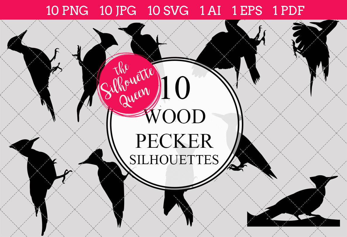 wood pecker silhouette clipart clip art ai eps svgs jpgs pngs rh thesilhouettequeen com Phallus Clip Art Bachelorette Party Silhouette Clip Art