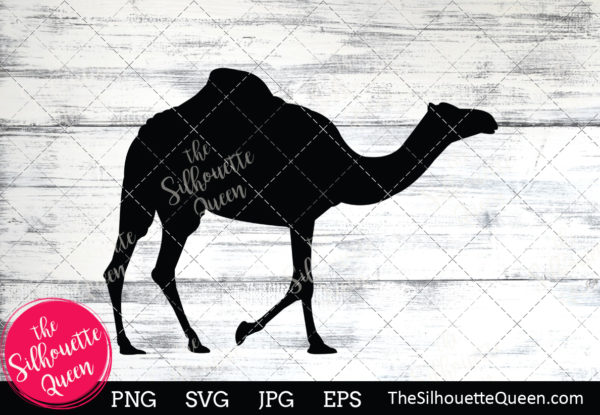 Camel  Silhouette Clipart