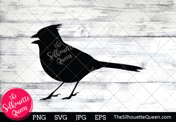 Cardinal  Silhouette Clipart