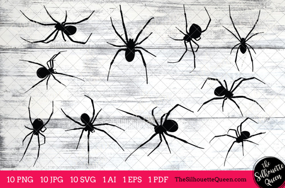 Black Widow Spider svg