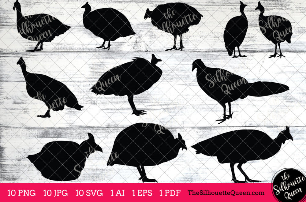 Fowl Bird SVG Files Bundle