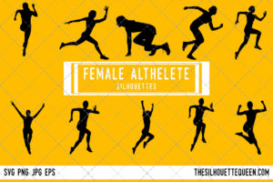 Woman Runner SVG Bundle