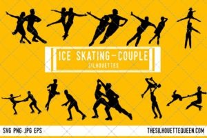 Ice Skating SVG Bundle