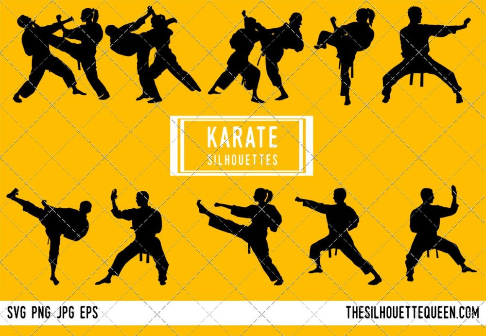 Karate SVG Bundle