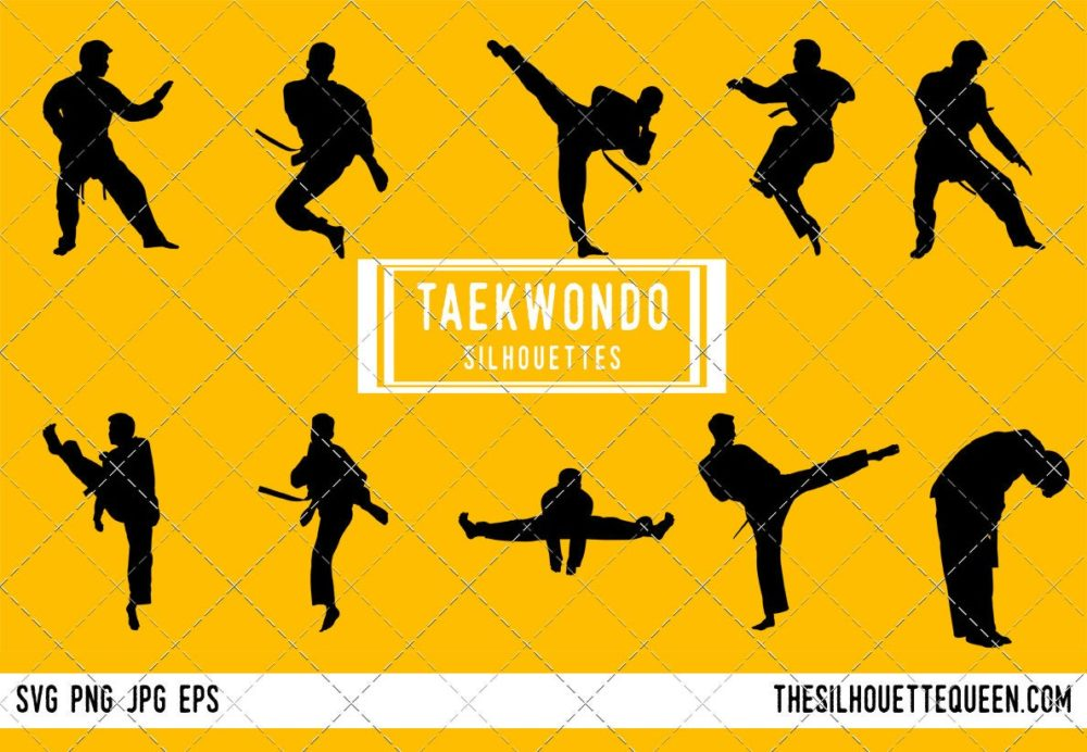 Taekwondo SVG Bundle