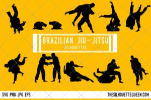 Brazilian jiu-jitsu SVG Bundle