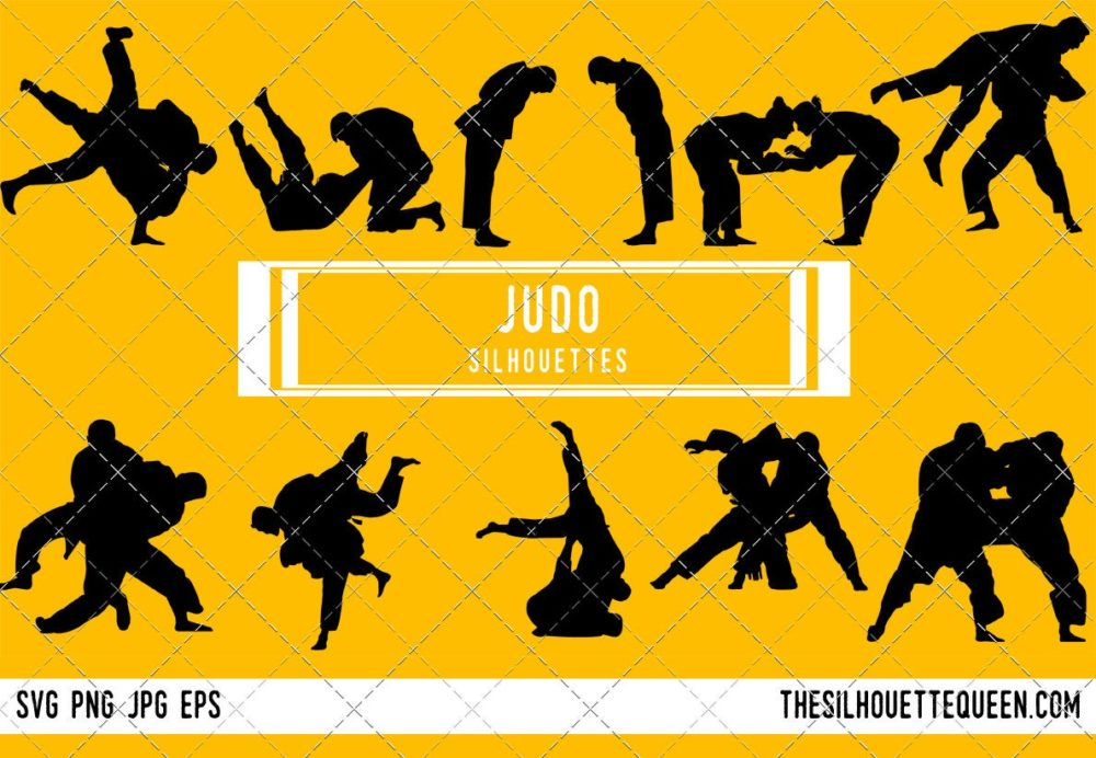 Judo SVG Bundle