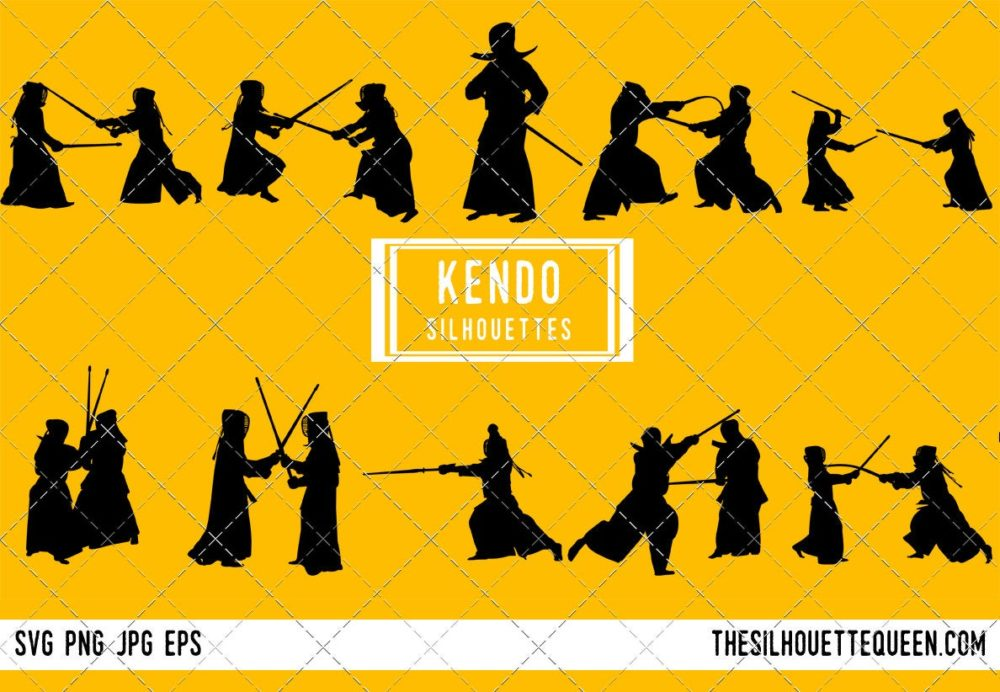 Kendo Warrior SVG Bundle