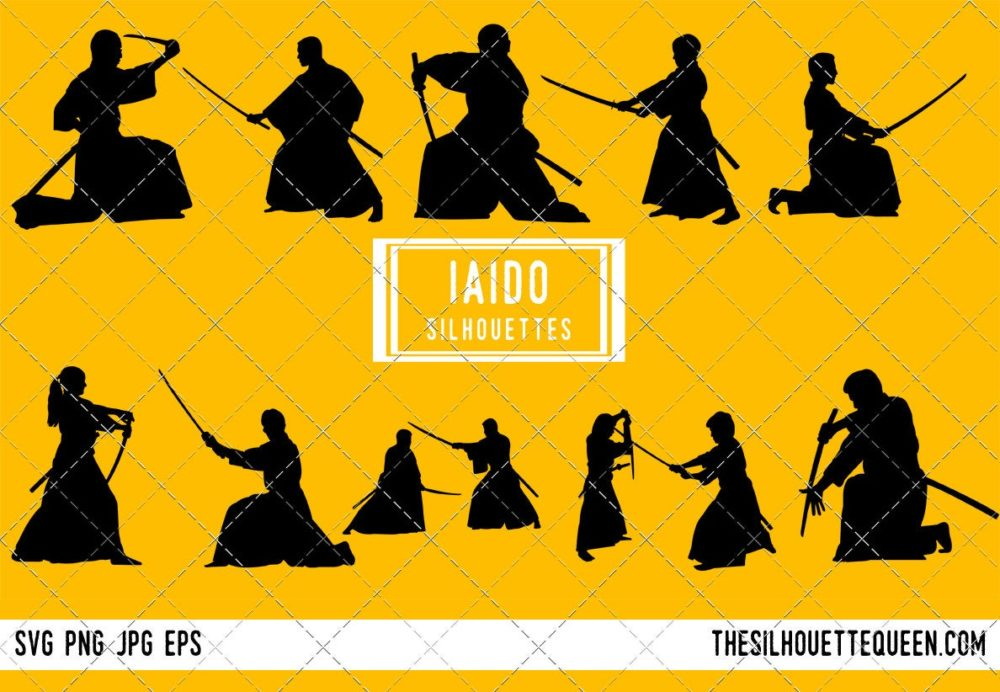 Iaido SVG Bundle