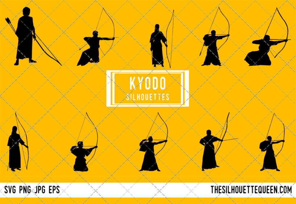 Kyodo Archery SVG Bundle