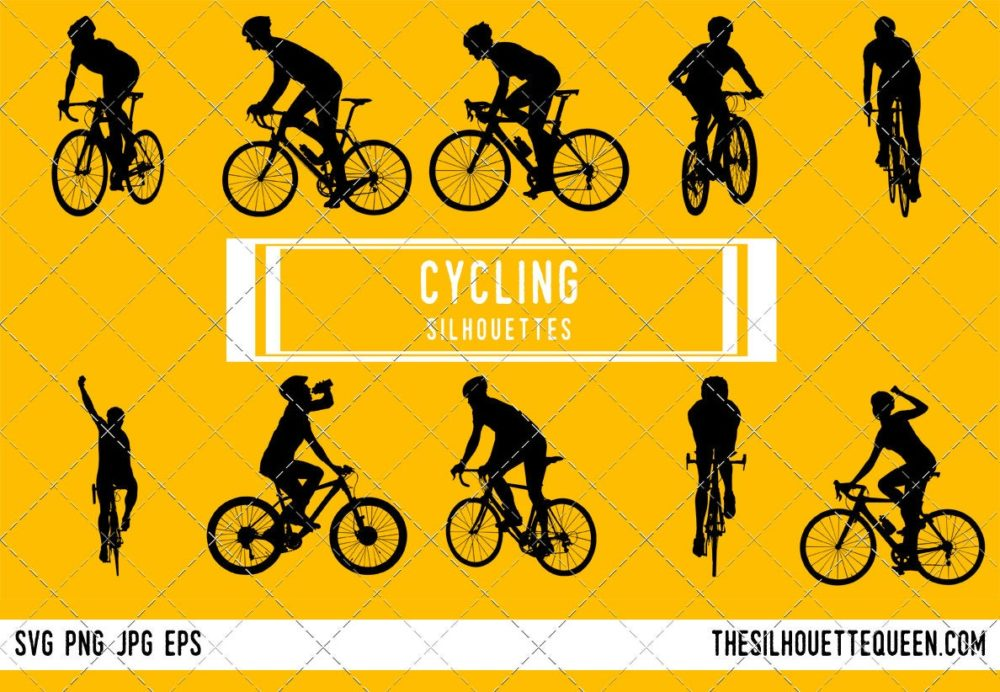 Cycling SVG Bundle