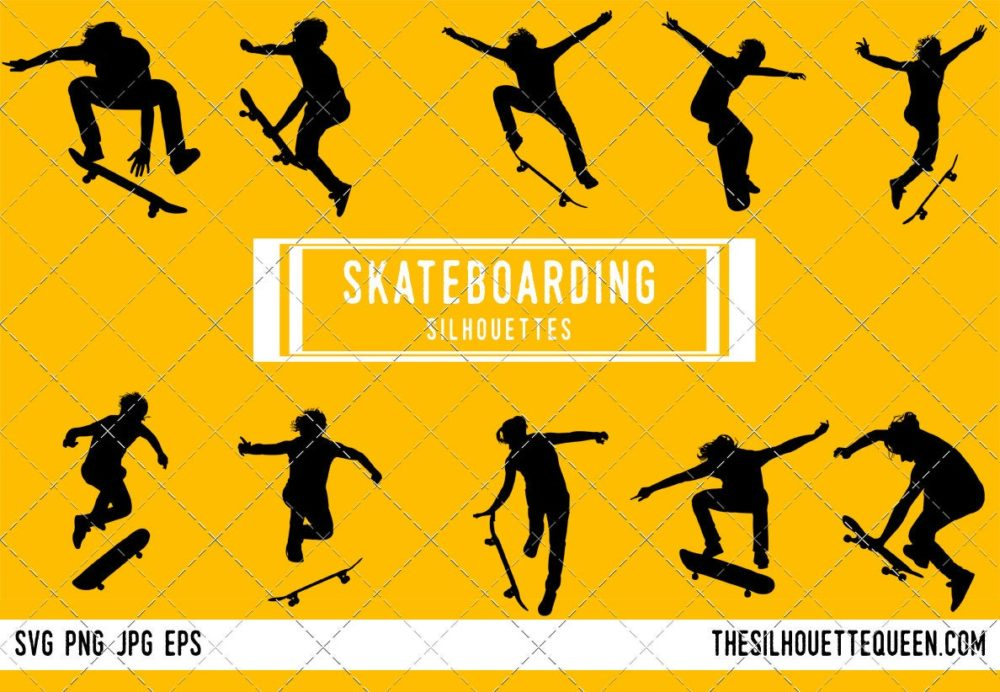 Skateboarding SVG Bundle