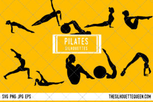 Pilates SVG Bundle
