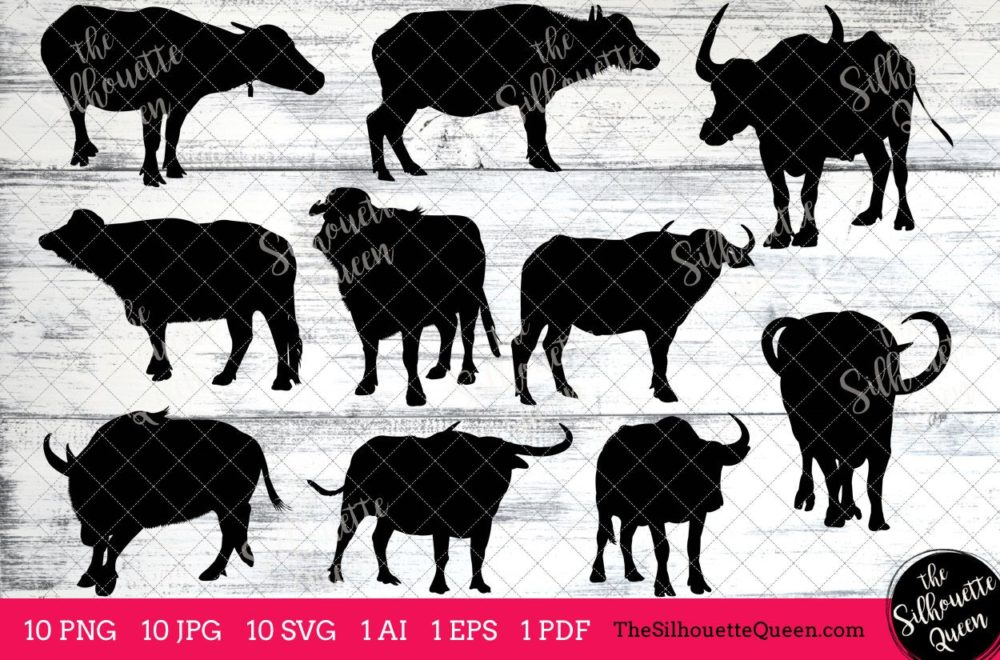 Water Buffalo svg