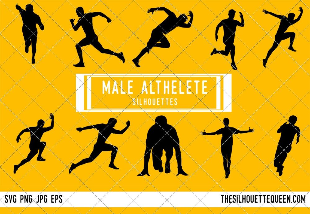 Men Runner SVG Bundle