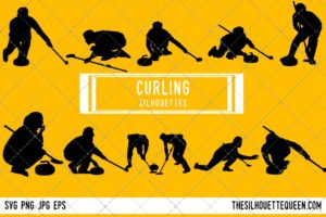 Curling SVG Bundle