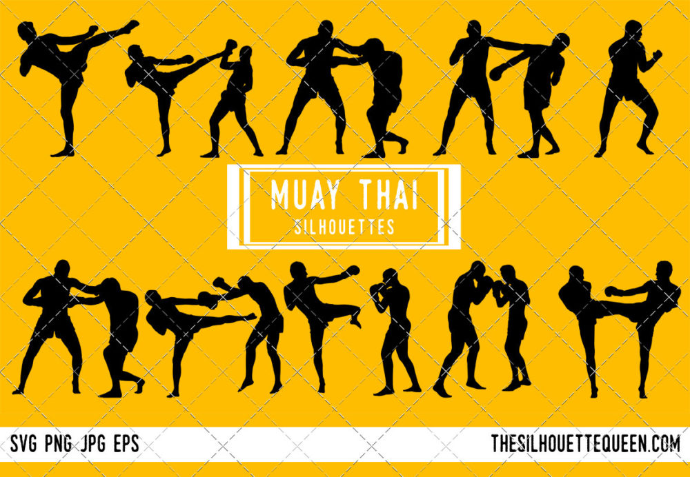 Muay Thai SVG Bundle