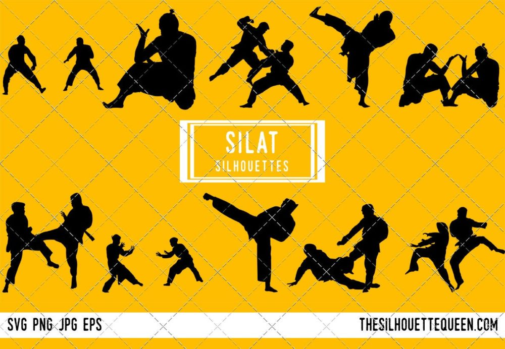 Silat SVG Bundle