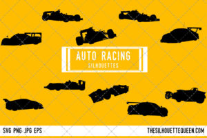 Auto racing SVG Bundle