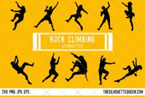 Rock Climbing SVG Bundle