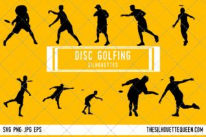 Disc Golfing SVG Bundle