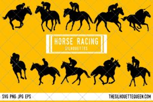 Horse Racing SVG Bundle
