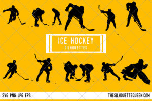 Ice Hockey SVG Bundle