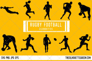 Rugby league SVG Bundle