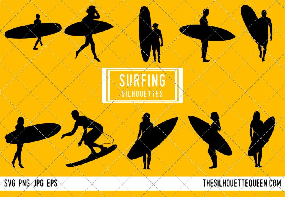 Surfing SVG Bundle