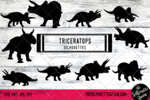 Triceratops SVG