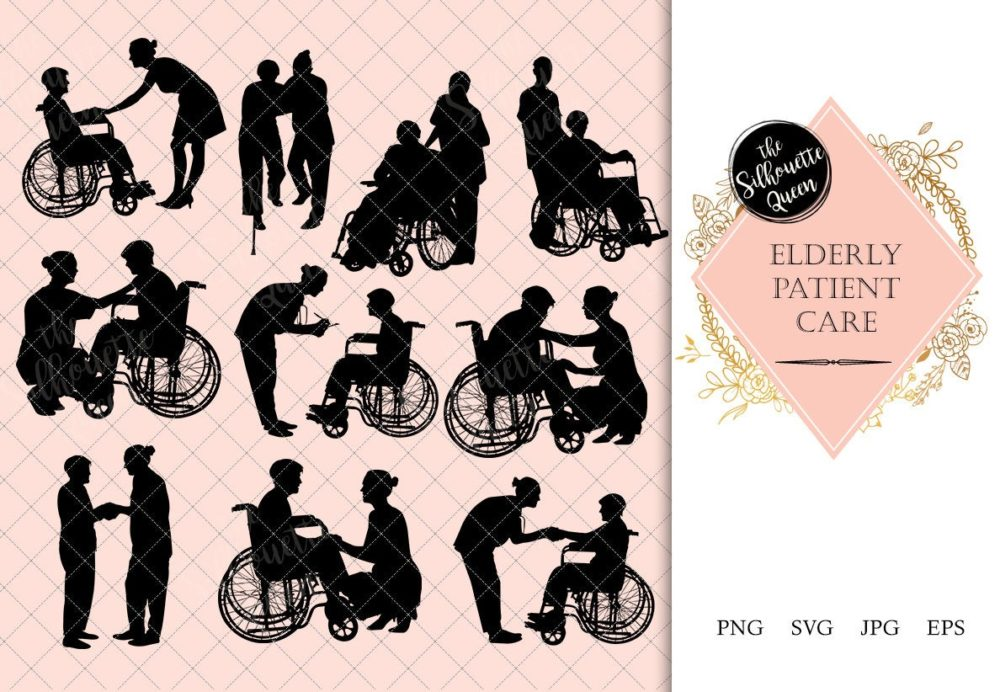 Elderly Care Silhouette