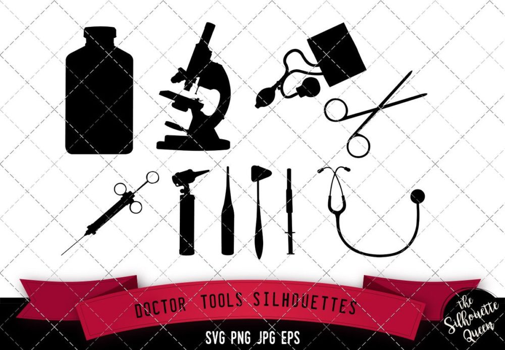 Doctor Tools Silhouette