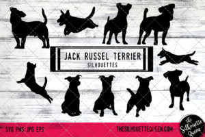 Jack Russell Terrier dog svg