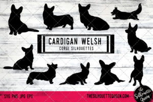 Cardigan Welsh Corgi dog svg