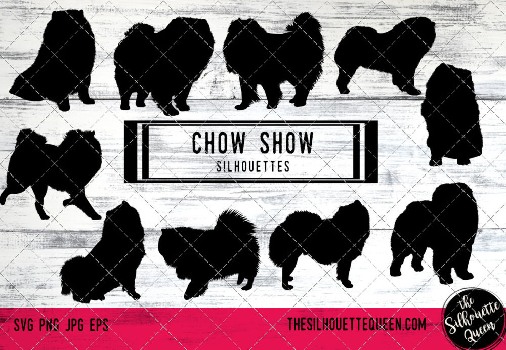Chow Chow dog svg