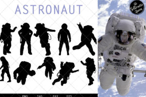 Astronaut svg file