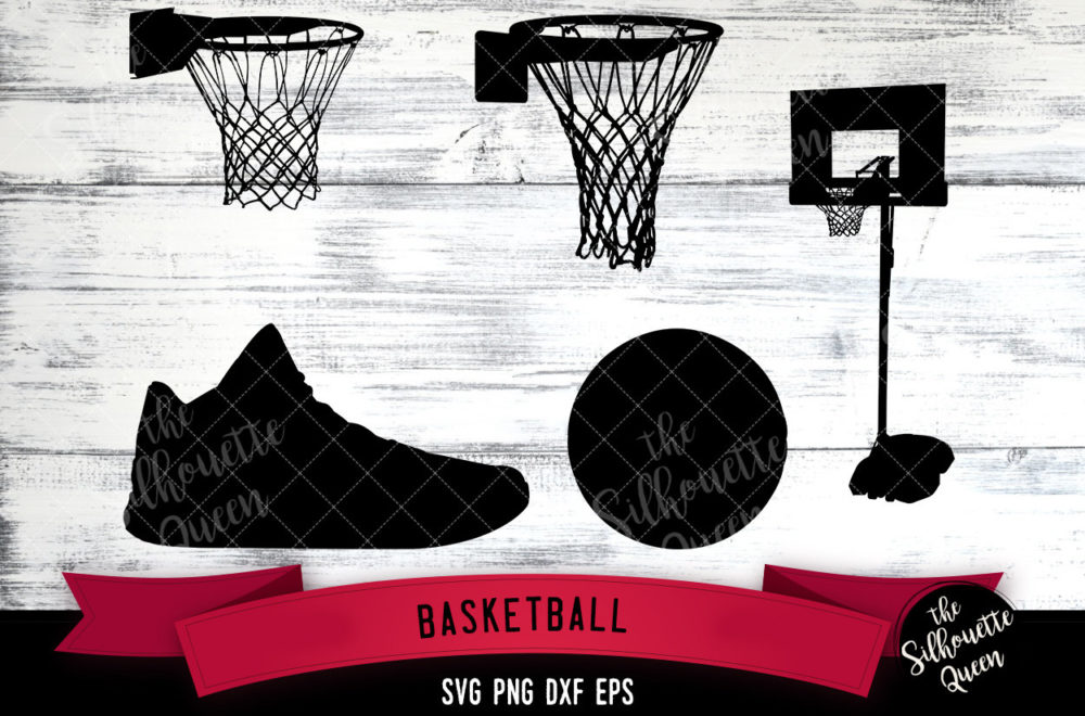 Basketball Equipment svg file