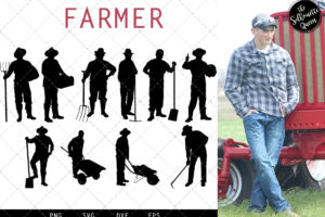 Farmer svg file