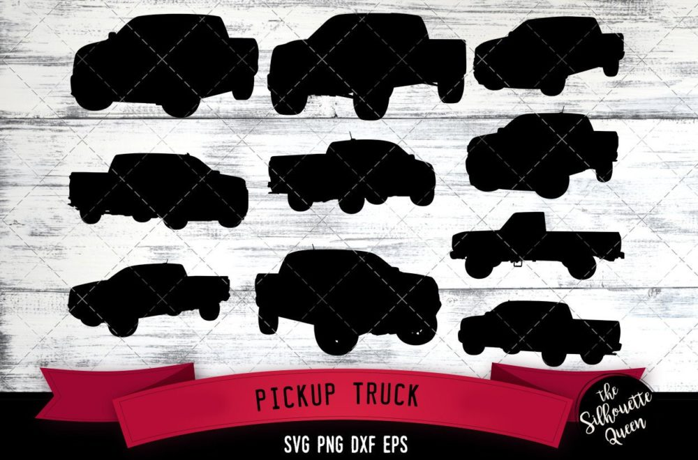 Pickup Truck svg file