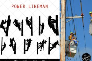 Power Lineman svg file