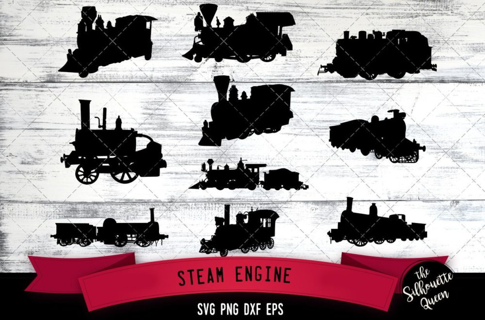 Steam Engine svg file