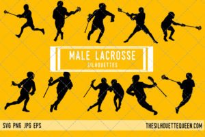 Man Lacrosse SVG Bundle