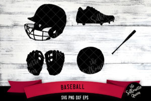 Baseball Equipment svg file