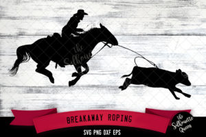 Breakaway Roping svg file