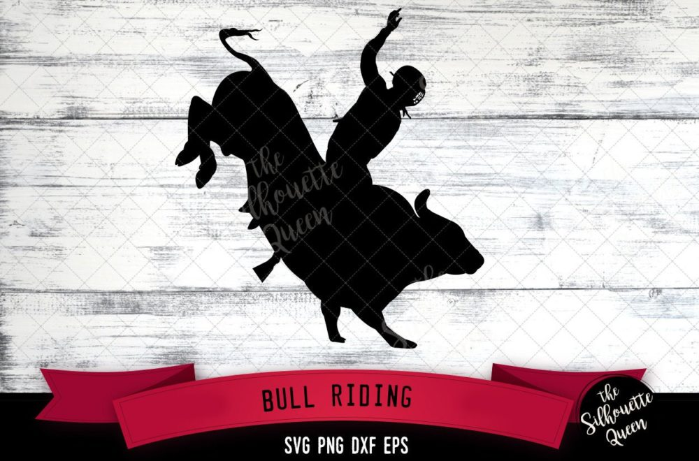 Bull Rididng svg file