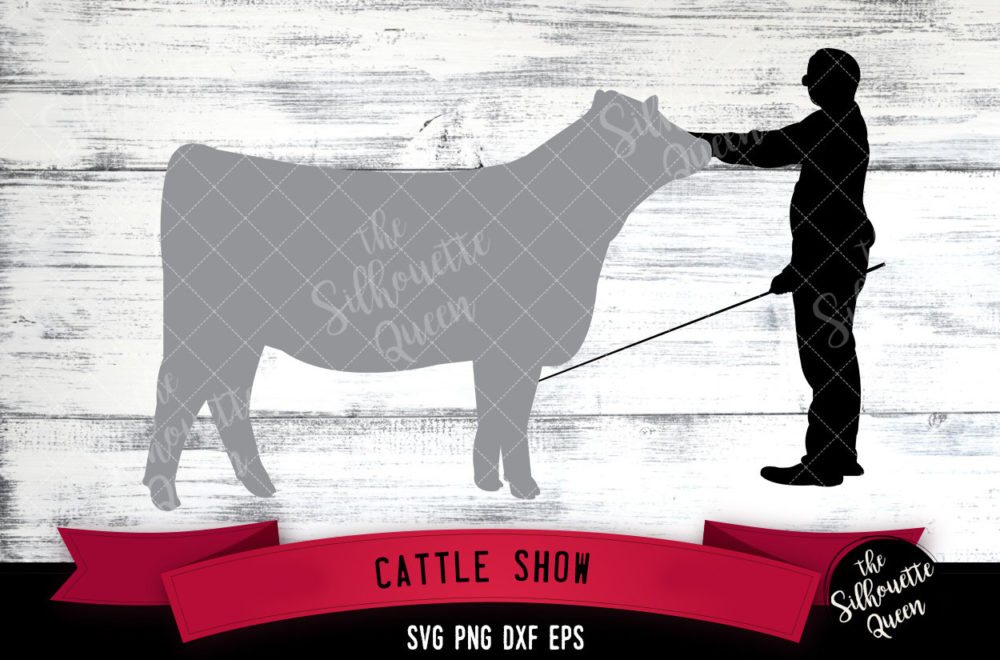 Cattle Show svg file
