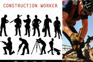 Construction Workers svg file