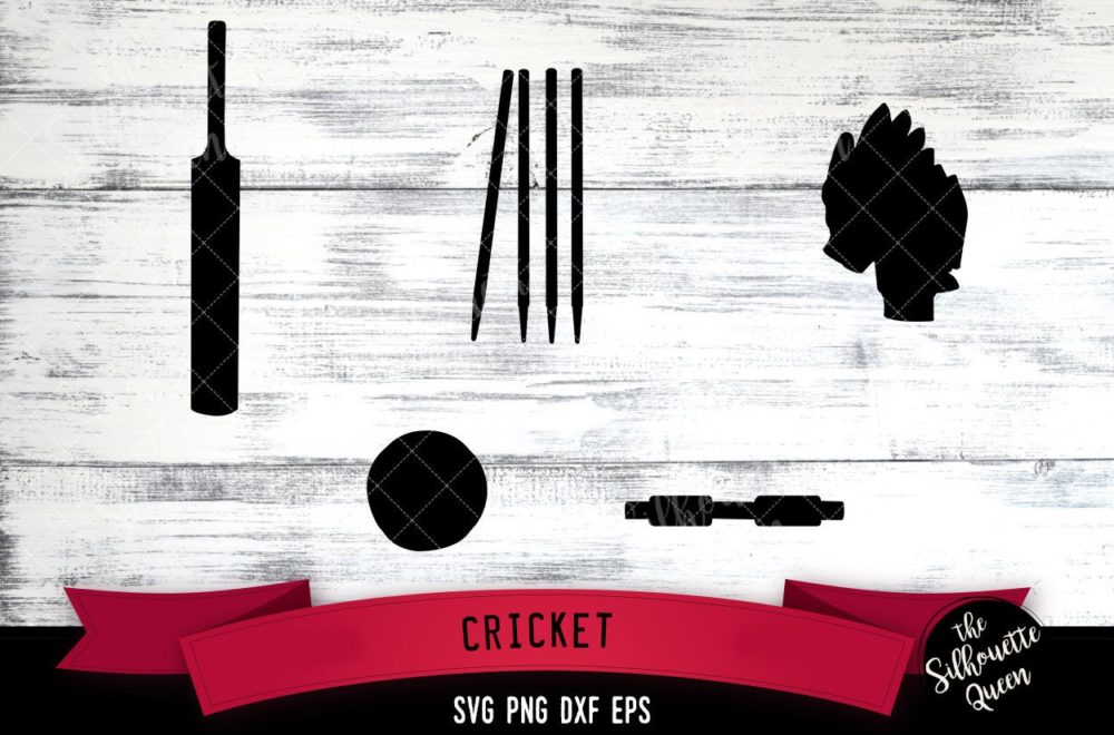 Cricket Equipment svg file