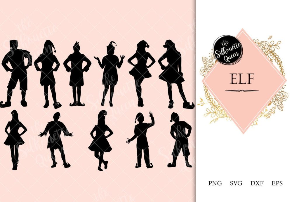 Elf svg file