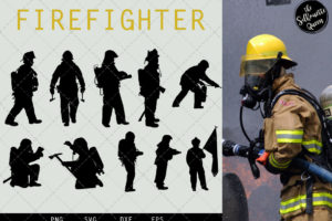 Fire Fighter svg file
